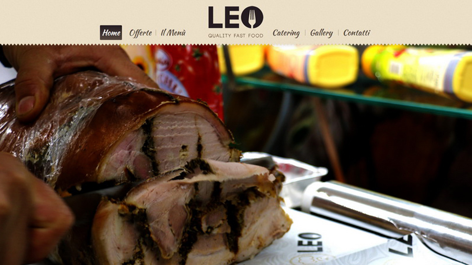 leo fast food picsel design web graphic. Black Bedroom Furniture Sets. Home Design Ideas